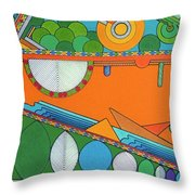 Rfb0425 Throw Pillow