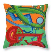 Rfb0430 Throw Pillow