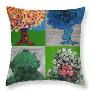 Rfb0502-0505 Throw Pillow