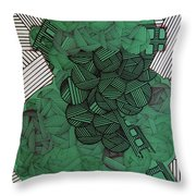 Rfb0502 Throw Pillow