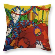 Rfb0507 Throw Pillow
