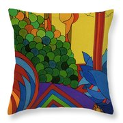 Rfb0509 Throw Pillow