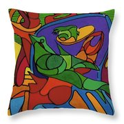 Rfb0550 Throw Pillow