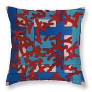 Rfb0805 Throw Pillow