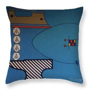 Rfb0908 Throw Pillow
