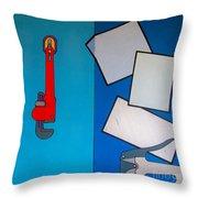 Rfb0911 Throw Pillow