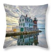 Reflection Dawn Throw Pillow