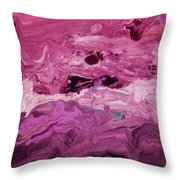 Rhapsody 2- Art By Linda Woods Throw Pillow
