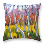 Rhapsody No 5 Throw Pillow