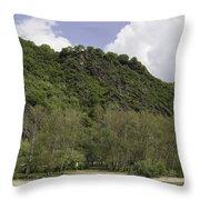 Rhenish Massif 04 Throw Pillow