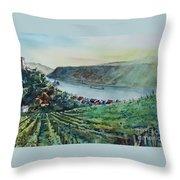 Rhine Valley Throw Pillow