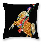 Rhinestone Cowboy Throw Pillow