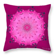 Rhoda Mandala 1 Throw Pillow