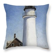Rhode Island Lighthouse Throw Pillow