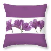 Rhody Ballet-pink Throw Pillow