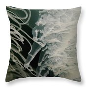 Rhopilema Nomadica Jellyfish Throw Pillow