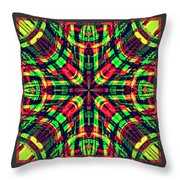 Rhotomic Throw Pillow