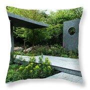 Rhs Chelsea The Brewin Dolphin Garden Throw Pillow