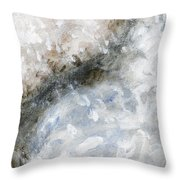 Rhymes And Blessings Abstract Painting Throw Pillow