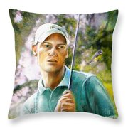 Rhys Davies  Throw Pillow