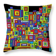 Rhythm 102 Throw Pillow