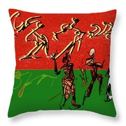 Rhythm And Soul Throw Pillow