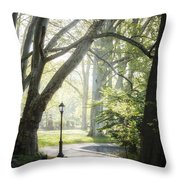 Rhythm Of The Trees Throw Pillow