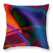 Rhythmic Trance Throw Pillow