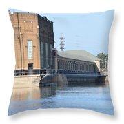 Ria Power Plant Throw Pillow