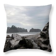 Rialto Beach Throw Pillow