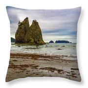 Rialto Beach Throw Pillow
