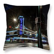 Rialto Theater Throw Pillow