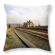 Ribblehead Station Throw Pillow