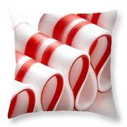 Ribbon Candy Throw Pillow