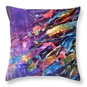 Ribbons 3 Throw Pillow