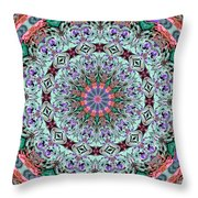 Ribbons And Lace Throw Pillow