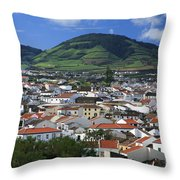 Ribeira Grande Throw Pillow