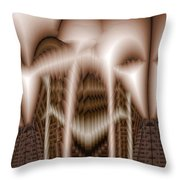 Ribs 3 Throw Pillow