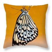 Rice Paper Out From Chrysalis Throw Pillow