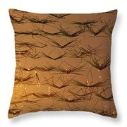 Rice Shoots Throw Pillow