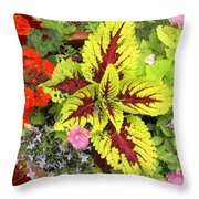 Rich Pattern Throw Pillow