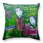 Richard Cheese Live At The Denver Modernism Show Throw Pillow