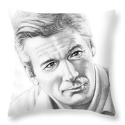 Richard Gere Throw Pillow