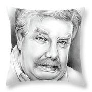 Richard Griffiths Throw Pillow