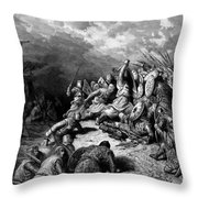 Richard I The Lionheart Delivering Jaffa 1877 Throw Pillow
