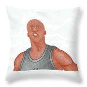 Richard Jefferson Throw Pillow