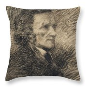 Richard Wagner  Throw Pillow