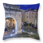 Richard's Arch Throw Pillow