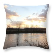 Richford Sunset  Throw Pillow