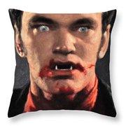 Richie Rising - From Dusk Till Dawn Throw Pillow